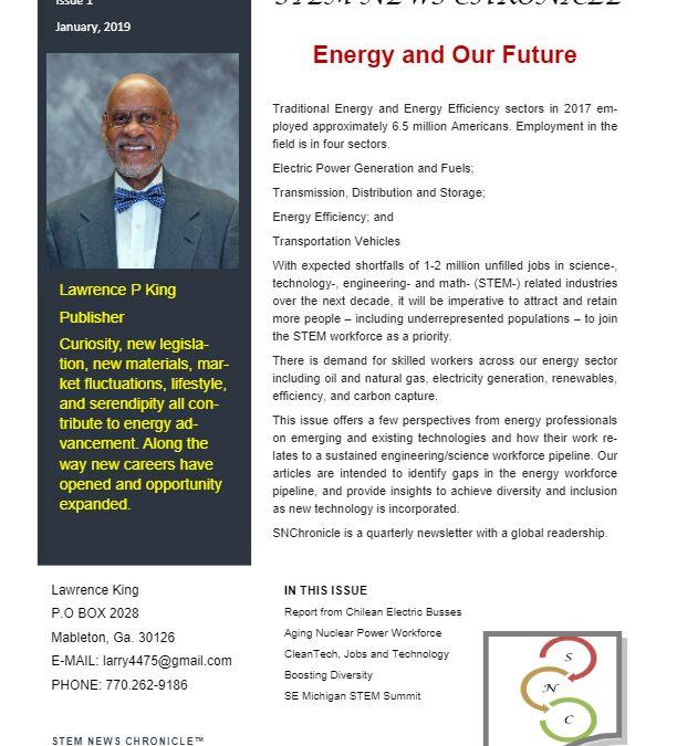 2019 STEM NEWS Vol 8 Issue 1